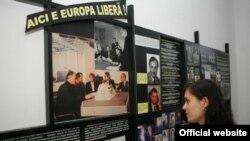 Sala Memorialului dedicată activității Radio Europa Liberă