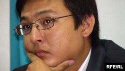 Артур Нигметов, корреспондент радио Азаттык. Алматы, 19 августа 2009 года.