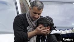 Один из учеников еврейской школы в Тулузе, на которую было совершено нападение
