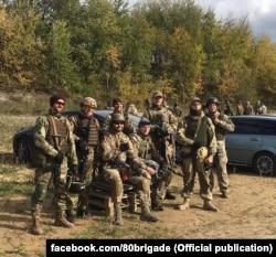 Десантники 80-ї ОДШБр. Фото зі сторінки бригади у Facebook