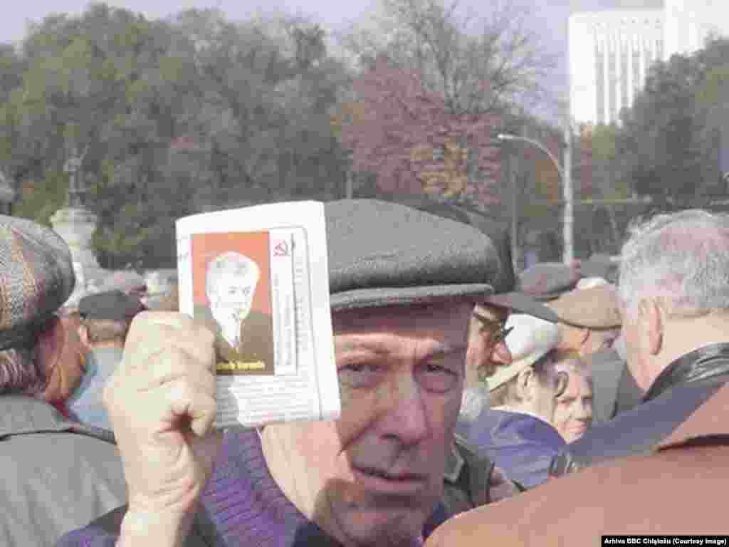 Proteste la Chişinău, 3 octombrie 2000