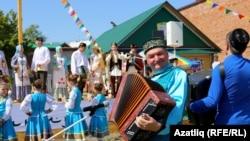 Казан Сабантуена беренче тапкыр бүләк җыю бәйрәме