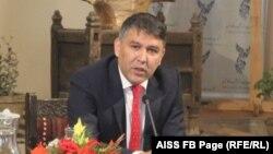 د افغانستان د کورنیو چارو سرپرست وزیر مسعود اندرابي