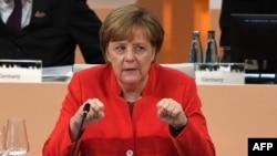Германия канцлері Ангела Меркель. Гамбург, 7 шілде 2017 жыл.