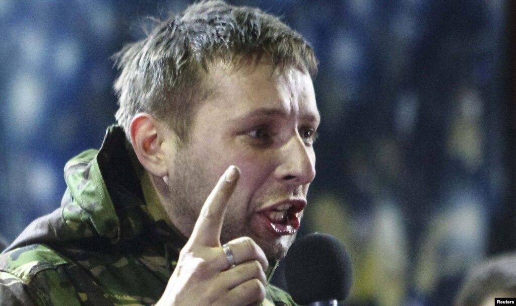Сотник Парасюк закликає Майдан перебратися на схід