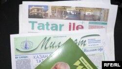 Татар телле һәм милли матбугат.