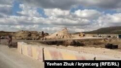 Строительство трассы «Таврида» между Симферополем и Бахчисараем
