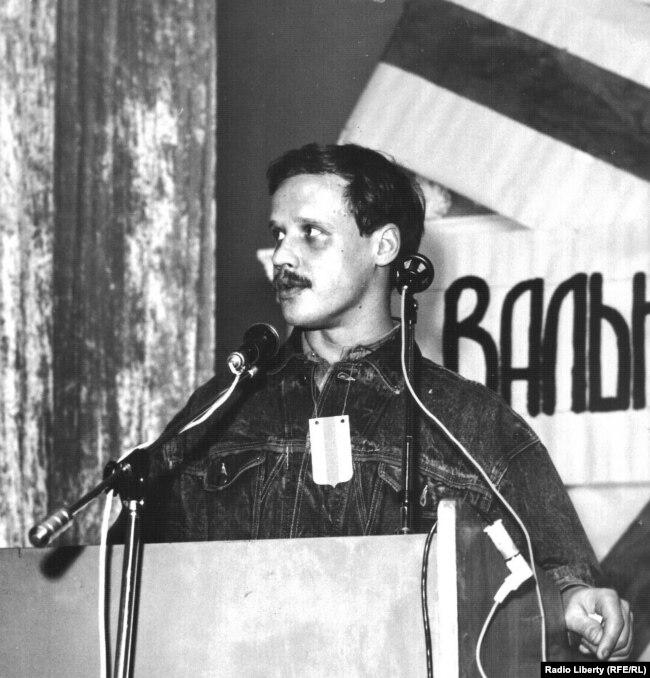 На ІІ Вальным Сойме беларускіх суполак, Вільня, 1989 год