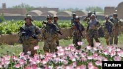 Амриканските сили во Авганистан