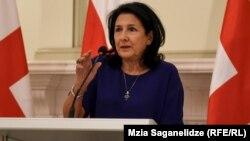 Վրաստանի նախագահ Սալոմե Զուրաբիշվիլի, արխիվ