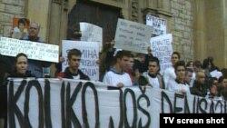 Protesti u Sarajevu protiv nasilja i tiranije