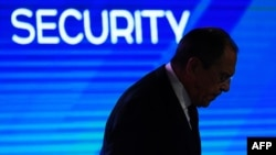Сергей Лавров на конференции в Москве (архивное фото).