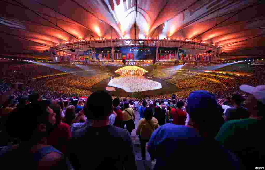 The Olympics – the first to be staged in South America -- will run until August 21.