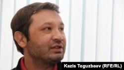 Аян Шәріпбаев, ADAMDAR компаниясының құрылтайшысы, ADAM bol журналының меншік иесі. Алматы, 29 қаңтар 2015 жыл