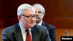 Орусиянын тышкы иштер министринин орун басары Сергей Рябков.