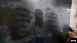 بیمار مبتلا به سل در پاکستان اکتبر سال ۲۰۱۶