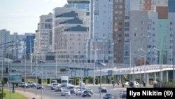 Астанадағы Мәңгілік ел даңғылы. (Фото атворы - Илья Никитин.)