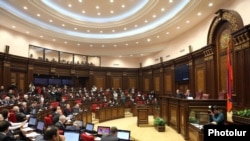 Armenia -- A session of parliament.