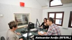 Ivana Lalić Majdak i Miloš Teodorović u razgovoru sa Brankom Mihajlović