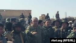 عبدالرشید دوستم و همراهانش در شمال افغانستان