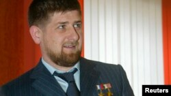 Президент Чечни Рамзан Кадыров.