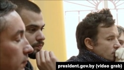Кірыл Бадзей, Эдуард Бабарыка, Віталь Шкляраў