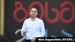 Лидер партии Алеко Элисашвили
