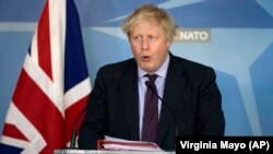 "British Foreign Secretary Boris Johnson has called Western expulsions of Moscow's diplomats ""a ""blow from which Russian intelligence will need many years to recover."" (file photo)"