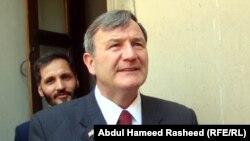 Outgoing U.S. Ambassador to Afghanistan Karl Eikenberry