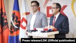 Shefi i Grupit Parlamentar të Lidhjes Demokratike të Kosovës, Avdullah Hoti.