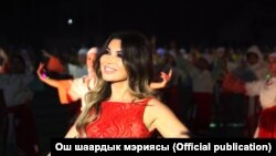 Өзбек ырчысы Райхон Ганиева. 5-октябрь, 2018-жыл.