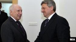 Архивска фотографија - Нимиц се сретна со претседателот Ѓорге Иванов, јули 2014.