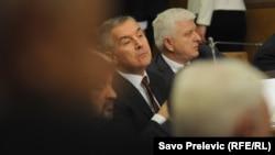 Premijer Crne Gore Milo Đukanović u Skupštini, ilustrativna fotografija