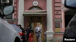 Здание генерального консульства США в Петербурге. 31 июля 2017 года.