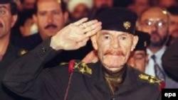 Izzat al-Duri in a 1999 picture
