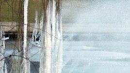 Замерзшие фонтаны Ганновера. Фото Евгения Козловского.