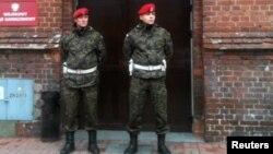 Լեհ ոստիկաններ, արխիվային լուսանկար