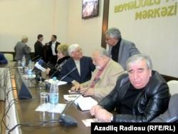 Ziyalılar Forumunun toplantısı