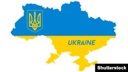 Ukraynanın xəritəsi
