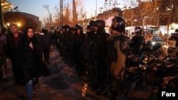 Тегеран, 2 января 2018 года