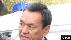 Interior Minister Moldomusa Kongantiev