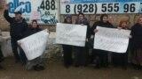 Митинг жителей в Муцалауле, 9 декабря