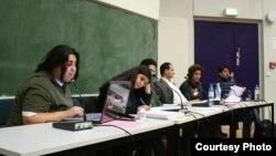 Берлин университетінде Иран студенттері дәріс тыңдап отыр. 1 қазан 2010 жыл. (Көрнекі сурет)