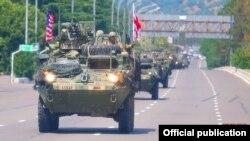 Вучэньні NATO 2017 году ў рэгіёне Поці