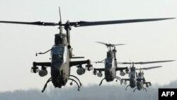 هلیکوپترهای کبری متعلق به ارتش کره جنوبی