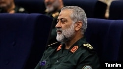Abolfazl Shekarchi, IRGC commander and Iran's armed forces high command spokesman.