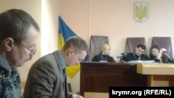 Василь Ганиш (Л) у суді