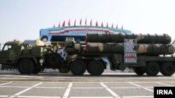 سامانه دفاع موشکی اس ۳۰۰ در تهران