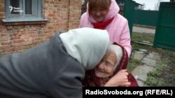 Вперше Оксана Лук'янець зустрілася з донькою свого рятівника – Вірою Бабак