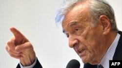 Писатель Эли Визель. Женева, 21 апреля 2009 года.